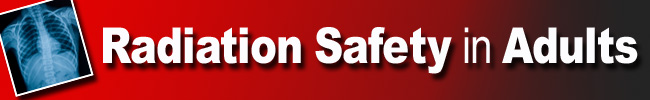 Radiation Safety Banner